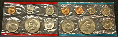 1974 Mint Set obverse