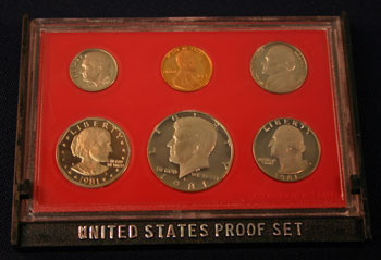1981 Proof Set obverse