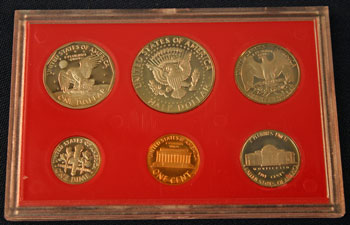 1981 Proof Set reverse