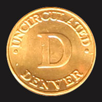 1998 Mint Set Denver mint mark token