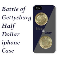 Gettysburg iphone Case on Greater Atlanta Coin Show's Numismatic Shoppe