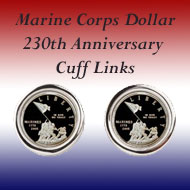 Marine Corps Commemorative Dollar on the Greater Atlanta Coin Show's Numismatic Shoppe