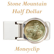 Stone Mountain Money Clip on Greater Atlanta Coin Show's Numismatic Shoppe